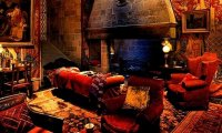 Gryffindor Common Room- Study