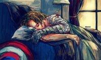 Sleeping with Bucky