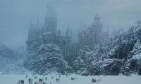 Hogwarts Grounds in winter
