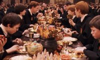 Halloween Feast at Hogwarts