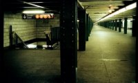 Tracked in the subway