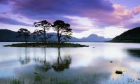 Sunset on Loch Maree