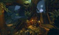 A golden city hidden in a cave
