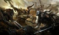 Epic medieval battle