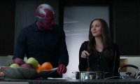 Cooking with Wanda Maximoff and Vision