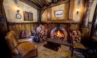 A quiet corner of The Green Dragon pub, The Shire