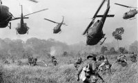 War inside an Helicopter.