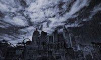 Rainy Night in Gotham