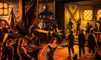 Generic RPG Tavern with rain