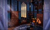 A Quiet Afternoon in the Ravenclaw Common Room