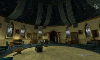 Occupied Ravenclaw Common Room, midday