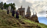 Outside Hogwarts on a Summer Morning