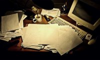 Cosmo Caraway's Desk