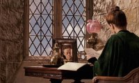 Professor McGonagall's Office on a Windy Night