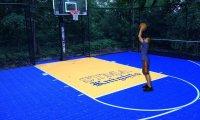 me on a basketball court