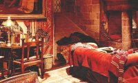 Relaxing in the Gryffindor Common Room