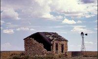 Abandoned desert outpost