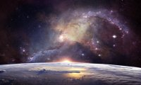 a dreamy spacelike ambiance
