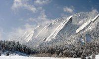 Path through mountains
