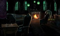 Slytherin Common Room with Merfolk