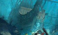 Swimming Underwater for Treasure