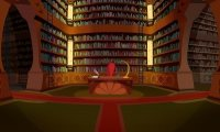 Study at the library at Alfea College for Fairies in Magix