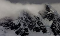 Haunting Mountain Snow