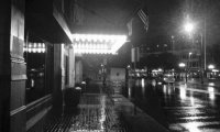 Jazz Bar on a Rainy Night