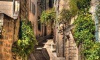 Calles en una ciudad feudal