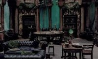 Slytherin's common room!