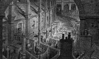 Running through a Victorian London Slum