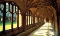 The sounds from a Hogwarts corridor in summer