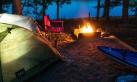 a summer night in your tent